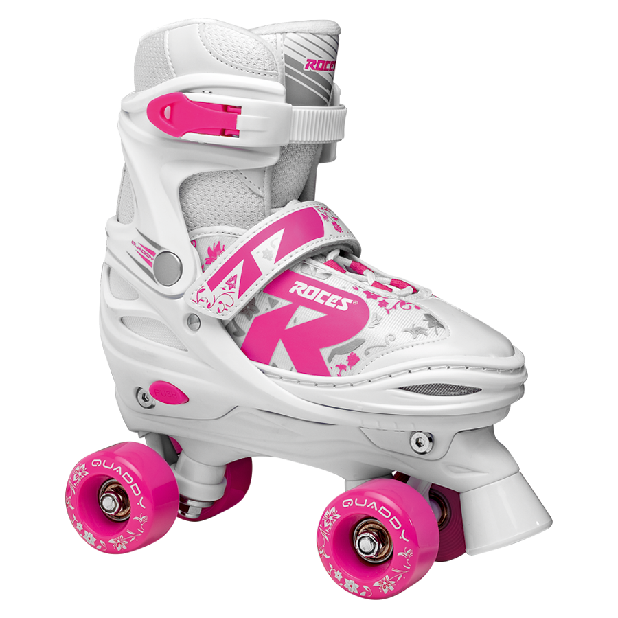 ROLE ROCES QUADDY GIRL 2.0 WHITE/PINK